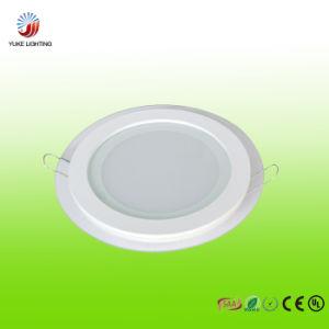 6W LED Glass Panel Light with CE RoHS SAA