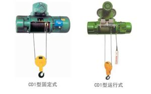 CD1 Electric Wire Rope Hoist pictures & photos