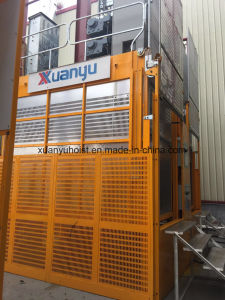 Sc100/100 Rack and Pinion Construction Elevator for Passangers and Materials pictures & photos
