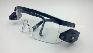 LED Light Protective Safety Goggles pictures & photos