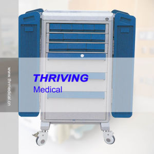 Hospital Dispensing Trolley (THR-ZY109) pictures & photos