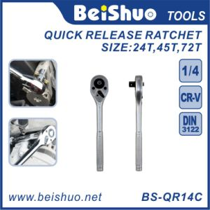 Long Lifespan Quick-Release Offset Ratchet Wrench Hand Tools pictures & photos