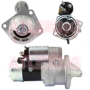 24V 11t 3.7kw Cw Starter Motor for Mitsubishi Nissan 18058 pictures & photos