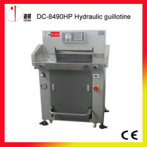 DC-8490HP Hydraulic Paper Cutting Machine, Guillotine Cutter pictures & photos