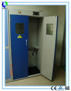 Chemical Lab Safety Storage Two Oxygen Cylinder Cabinet (HL-GG014) pictures & photos
