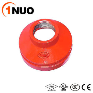 1nuo Casting High Quality Ductile Iron Pipe Fittings Threaded Reducer pictures & photos
