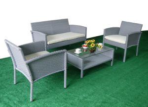 Kd Garden Sofa SGS PE Rattan Outdoor Sofa pictures & photos