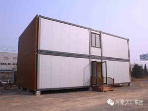 20FT/40FT Flat Pack Steel Frame Sandwich Panel Container Homes pictures & photos
