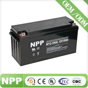 Rechargeable SMF Solar Battery (12V150ah)