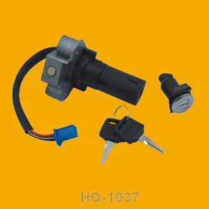 Plastic Motorbike Ignition Switch, Motorcycle Ignition Switch for Hq1037 pictures & photos