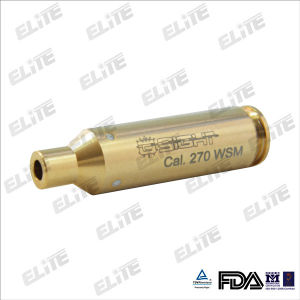 100% Brass and Gold-Plated Bore Sighter 270wsm