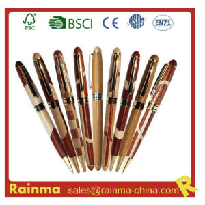 High Quality Wooden Metal Ball Pen for Promotional Gift pictures & photos