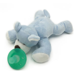 BPA Free Cuddly Teddy Bear Super Soft Plush Animal Pacifier pictures & photos