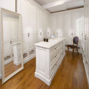 2016 Welbom Italian Style White Wooden Walk in Closet pictures & photos