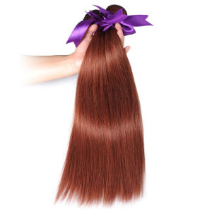 Brazilian Straight Hair Weave Bundles Pure Color 33 100% Human Hair Weft pictures & photos
