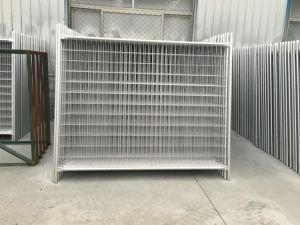 Hot Dipped Galvanized Steel Materials 2100mm X 2400mm for Oceania Temporary Hoarding Fence pictures & photos