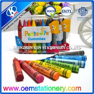 8.8cm Finger Shaped Wax Crayon / Children Crayon /Kids Wax Crayon