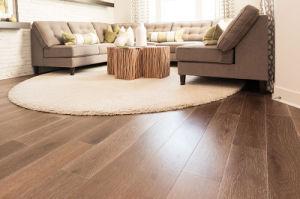 Multi Layers Russian Oak Engineered Wood Flooring in CD Grade, Brushed, Natural Oiled (oak parquet) Wood Engineered Flooring