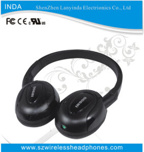 IR Wireless Headphone for Headrest DVD Player with Special Design