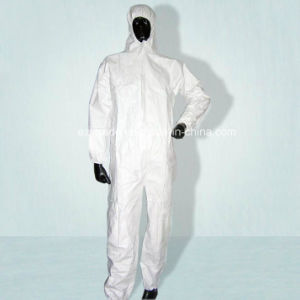 Sns Coverall Disposable Protective Clothing with High Quality pictures & photos