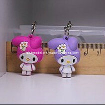 Plastic Cute Rabbit Keychain Doll for Display (4 cm) pictures & photos