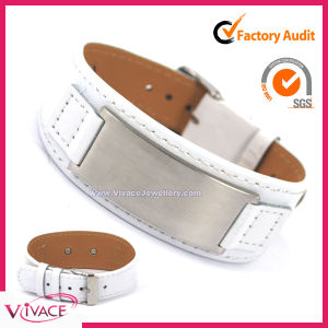 Fashion Leather Bracelet for Health Care (PW-204W)