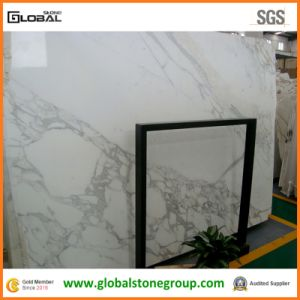 High End Calacatta White Marble for Hotel Countertops/ Table Tops