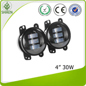 4 Inch 30W Round Car LED Fog Light for Jeep Wrangler pictures & photos