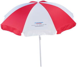 Branded Sun Protection Promotional Beach Umbrella pictures & photos