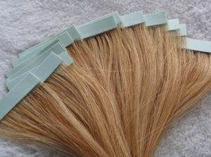 Straight Tape in Remy Human Hair Extension