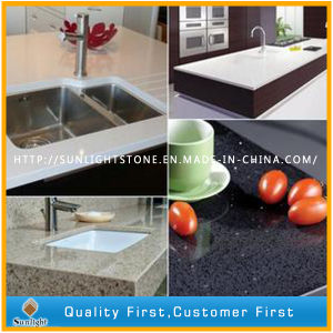 Best Grey Artificial Quartz Stone Countertops for Kitchen/Bathroom pictures & photos