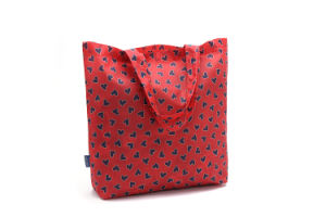 Grid Cloth Folding Nylon Shopping Bag pictures & photos