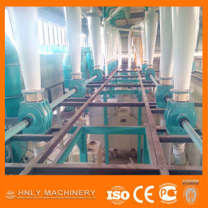 China Supplier Fully Automatic Turnkey Project Maize Milling Machine pictures & photos