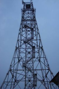 Tele-Communication Tower; Steel Tower; Galvanizing Tower