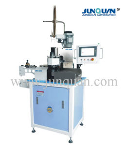 Automatic Terminal Crimping Machine (One End) (JQ-5) pictures & photos