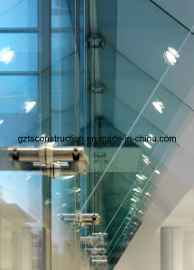 Glass Awning with Safety Laminated Glass and Spider Fittings pictures & photos