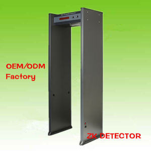 Single Zone Walk-Through Metal Detector Zk-801
