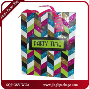 Gift Paper Bag for Brithday Part, Part Gift Paper Bag Color Folding Customzied Gift Paper Bag pictures & photos