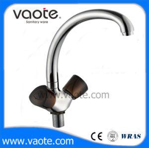 Double Handle Kitchen Sink Faucet (VT60605) pictures & photos