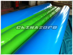 Cheap Price Inflatable Tube Slide with Mini Pool at End pictures & photos