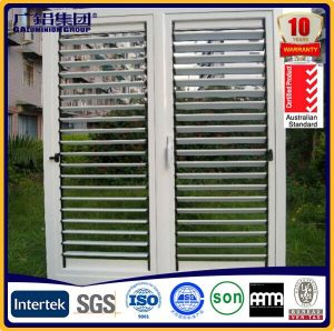 Aluminum Colorful Shutter Door with Rolling Hardware pictures & photos