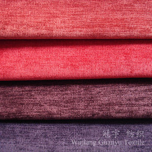 28W Cutted Pile Polyester and Nylon Corduroy Fabric with Backing pictures & photos