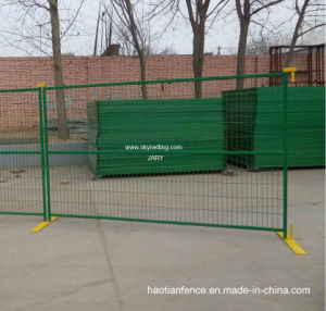 TUV Certicification Canada PVC Coated Portable Fence pictures & photos