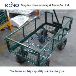 Good Selling Wire Mesh Garden Cart pictures & photos