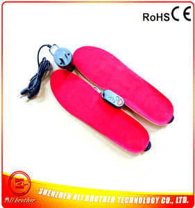 3.7V Wireless Remote Control Battery Heated Insole pictures & photos