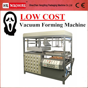 Small Plastic Vacuum Forming Machine