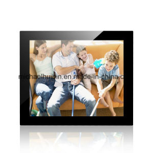 17inch TFT LED Display Wall-Mounted Multi-Media Promotional Advertising Player (HB-DPF1701) pictures & photos
