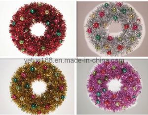 Christmas Pearl Wreath (W4523)