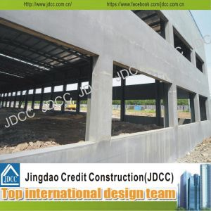 Cement Composite Panels Steel Structure Workshop pictures & photos