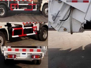 Compression Type Garbage Truck pictures & photos
